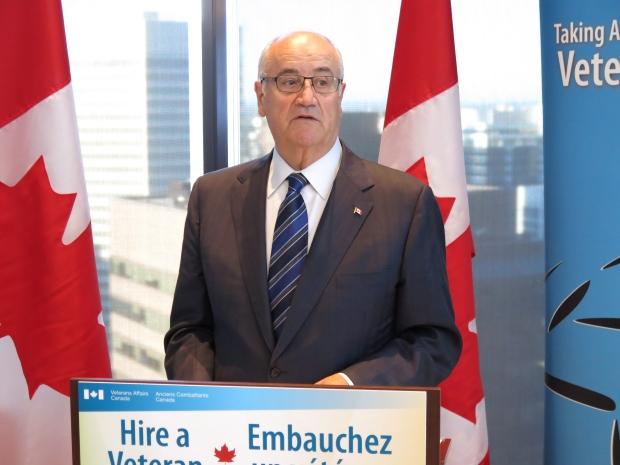 Federal Veterans Affairs Minister Julian Fantino