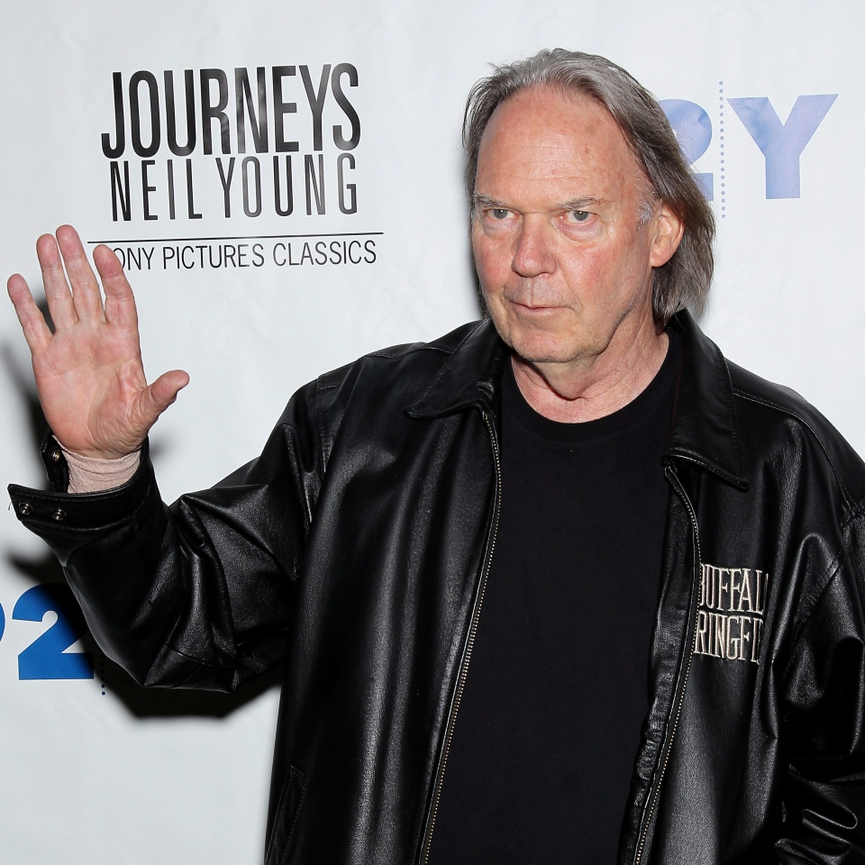 Singer Neil Young is seen at a screening for Sony Pictures Classics', 'Neil Young: Journeys,' a film by Jonathan Demme, at the 92nd Street Y in New York on Thursday, June 7, 2012. (Starpix / Marion Curtis)