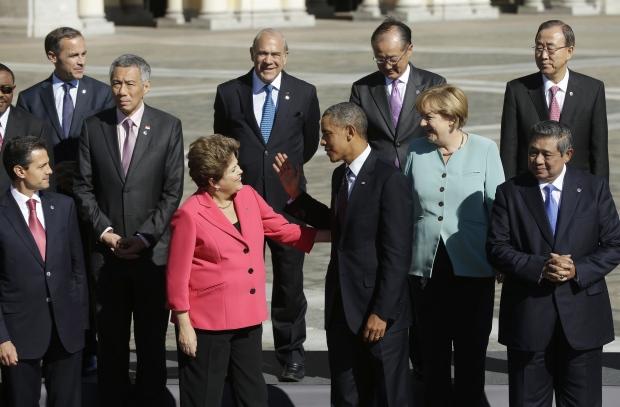 Barack Obama, Dilma Rousseff