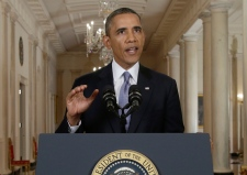 Allies say Obama misread public's mood on Syria