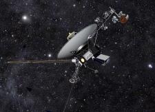 Voyager 1 leaves solar system