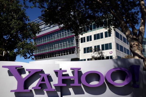 Yahoo! headquarters in Sunnyvale, Calif.