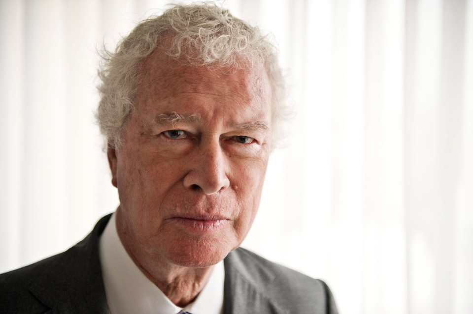 Former Canadian ambassador to Iran Ken Taylor of documentary 'Our Man in Tehran' poses for a photo during the 2013 Toronto International Film Festival in Toronto on Thursday, Sept. 12, 2013. (Galit Rodan / THE CANADIAN PRESS)