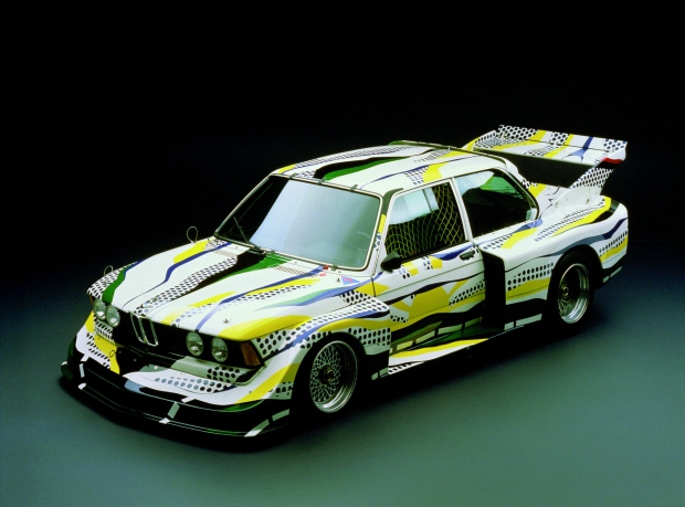 BMW 320i IMSA 2L decorated by Roy Lichtenstein