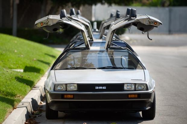 DeLorean cars