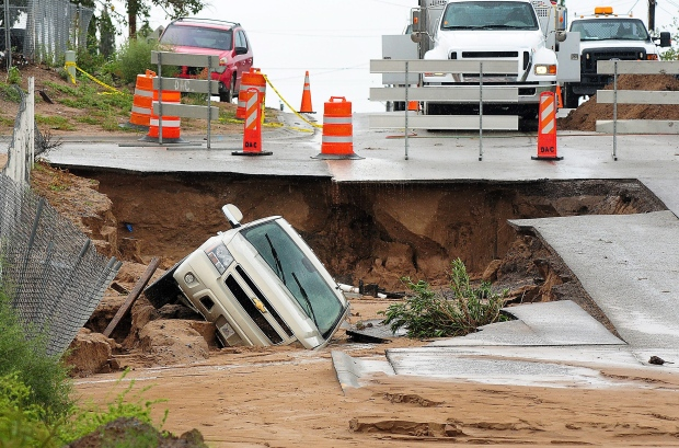 New Mexico cleans up after widespread flooding damages ...