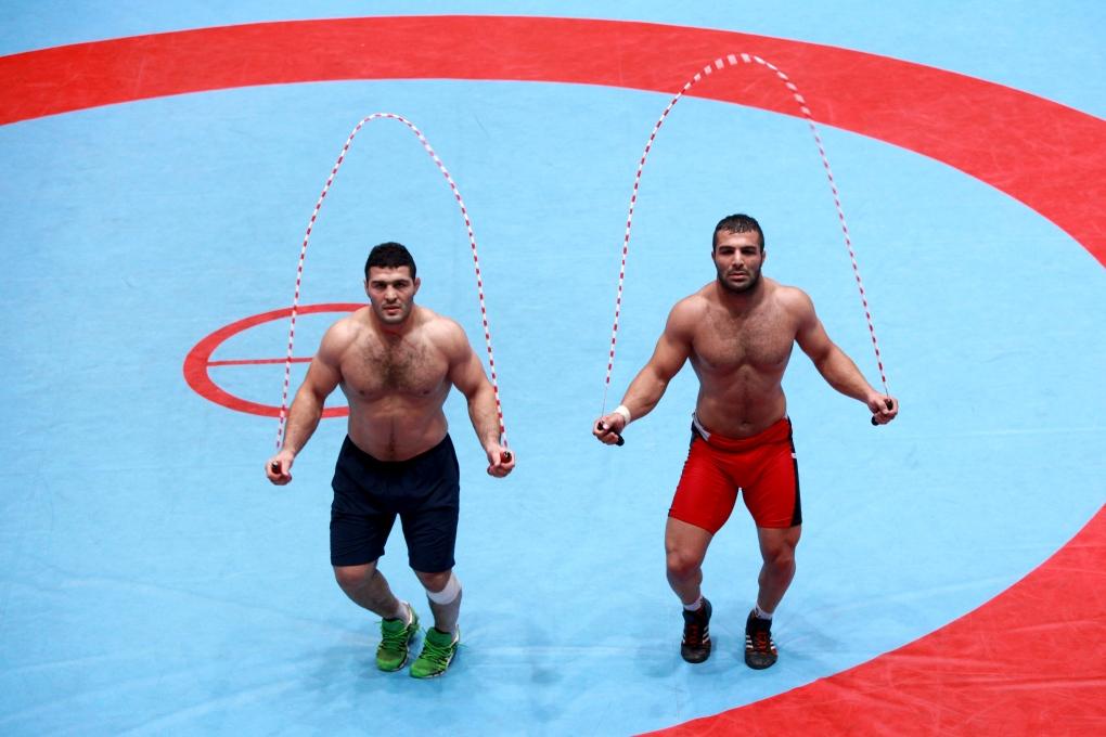 Reza Yazdani, olympic wrestler
