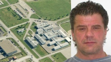 Rene Charlebois, 48, has escaped a minimum-securit