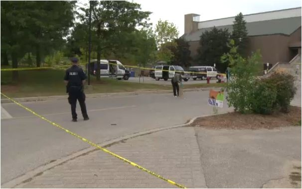 Police investigating a bizarre incident at the University of Waterloo in the overnight of Sunday, Sept. 15, 2013.