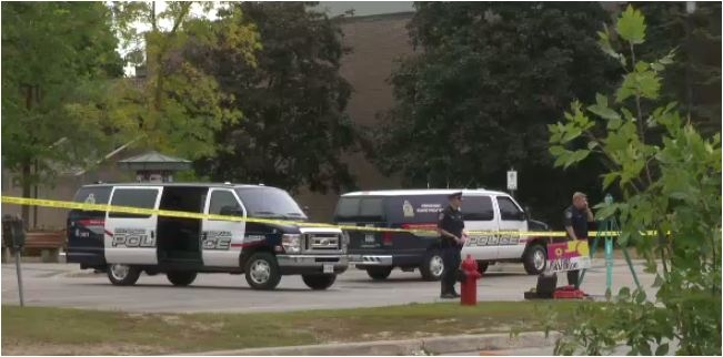 Police investigating a bizarre incident at University of Waterloo in the overnight of Sunday, Sept. 15, 2013.