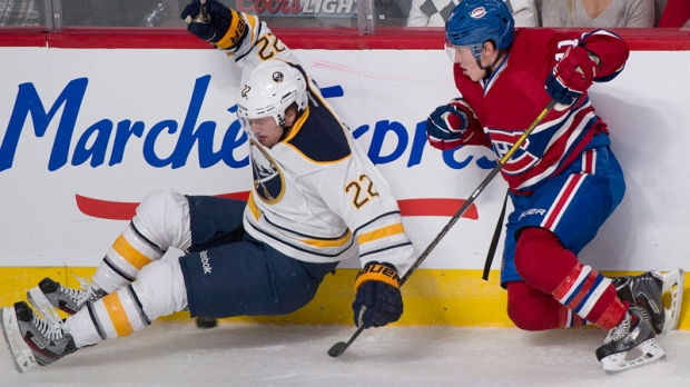 Montreal Canadiens' Brendan Gallagher, right, and