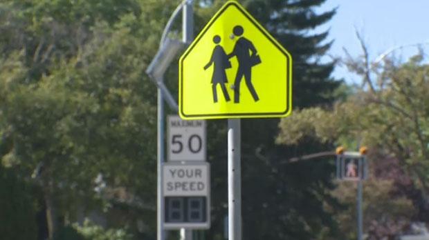 Manitoba speed limits in school zones