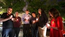 Vigil for victims of shooting at D.C. Navy Yard