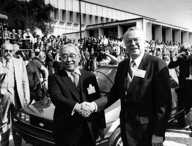 Former Toyota president Eiji Toyoda dies