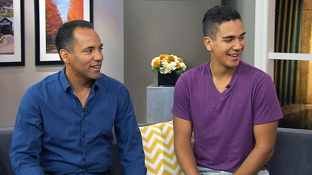 Tim Hague Sr. and Tim Hague Jr. speak on Canada AM about their 'Amazing Race Canada' victory, Tuesday, Sept. 17, 2013.