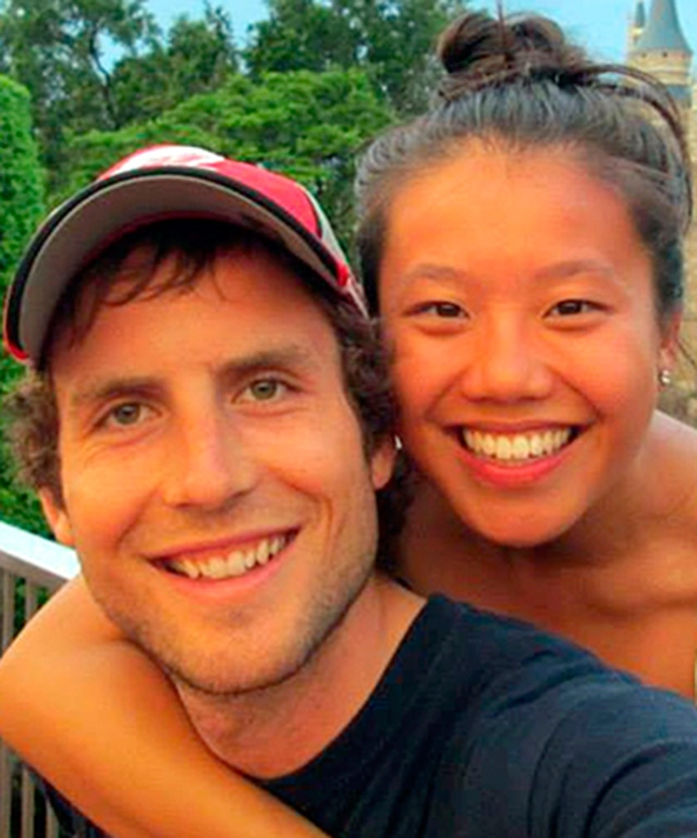 Missing Ottawa couple Connor Hayes, left and Joanna Lam are seen in this undated photo.