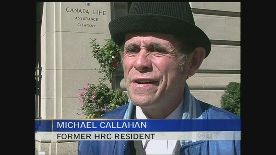 Michael Callahan says he is happy to move on with his life following a settlement in Toronto Sept. 17, 2013.