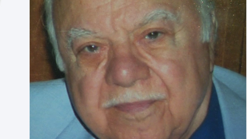 The death of Bobby Charalambous, 82, at a Dorval nursing home last December has been classified a homicide. (CTV Montreal, courtesy Charalambous family, Sept. 17, 2013)