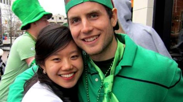 Joanna Lam and Connor Hayes