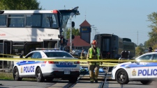 6 dead after Via Rail train collides with bus