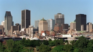 A view of the Montreal skyline in 2002. (Paul Chiasson / CP)