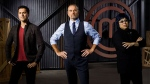 MasterChef Canada judges: Alvin Lee, Claudio Aprile, and Michael Bonacini