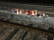 bus-train crash memorial