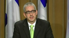 Jean-Martin Aussant, MNA for Nicolet-Yamaska, has left the Parti Quebecois (June 7, 2011)