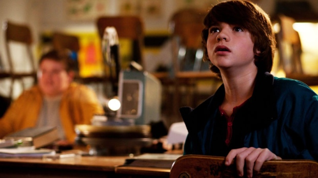 In this film publicity image released by Paramount Pictures, Joel Courtney is shown in a scene from 'Super 8.' (Paramount Pictures, Francois Duhamel)