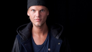 "In this Aug. 30, 2013 file photo, the Grammy-nominated Swedish DJ-producer, Avicii poses for a portrait, in New York. Avicii released his debut album, ""True,"" on Tuesday, Sept. 17, 2013. (AP / Amy Sussman)"
