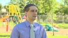Waterloo Catholic District School Board trustee Anthony Piscitelli speaks with CTV News on Saturday, Sept. 14, 2013.