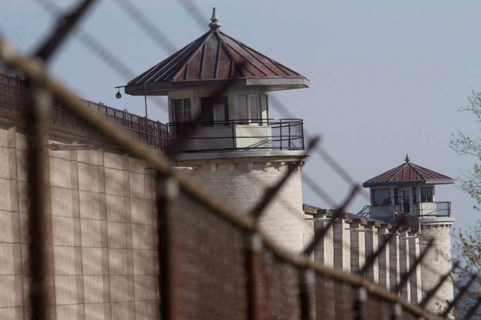The Kingston Penitentiary is shown in an April 19, 2012 photo. (The Canadian Press/Lars Hagberg)