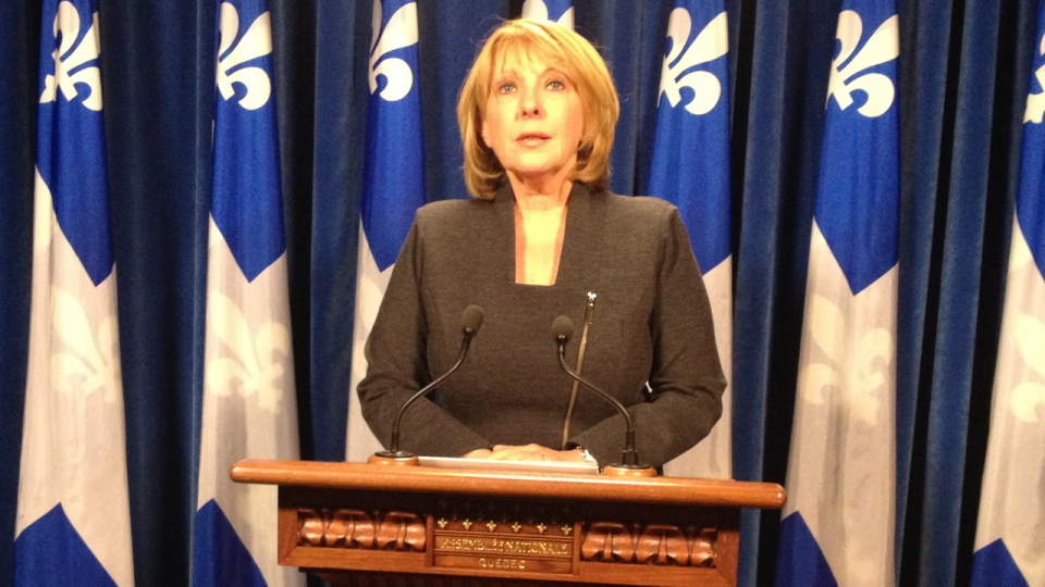 Christine St-Pierre is among those encouraging more women to enter politics.