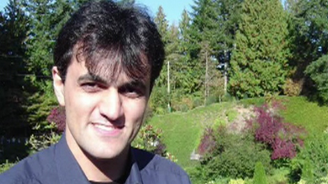 Saeed Malekpour is seen in this undated photo.