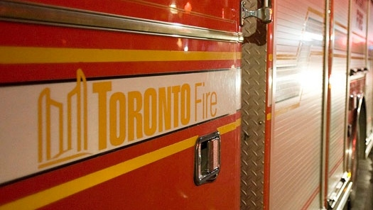 A Toronto fire truck is seen in this file photo. (Aaron Vincent Elkaim/The Canadian Press)