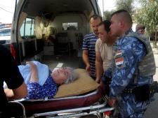 A bomb attack in Kirkuk