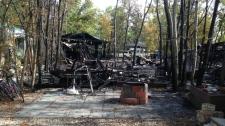 Petersfield cabin fires