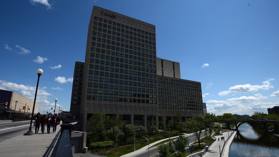 National Defence Headquarters is shown in Ottawa, Tuesday, May 14, 2013. (Sean Kilpatrick / THE CANADIAN PRESS)