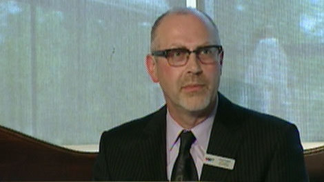 CTV's GM and Vice President Lloyd Lewis announces an expansion in CTV News programming for the fall on June 7, 2011.