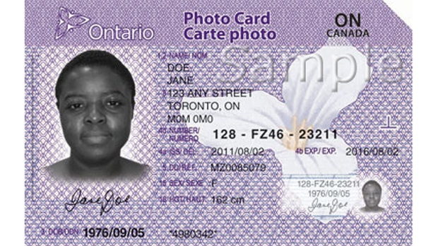 Photo Non-drivers Id Ottawa In Ontario News Ctv New For