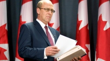 Interim auditor general John Wiersema arrives for a news conference on the Auditor Generals report tabled in the House of Commons on Parliament Hill in Ottawa, Thursday, June 9, 2011. (Adrian Wyld / THE CANADIAN PRESS)