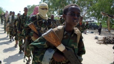 Somalia-based militant group al-Shabab