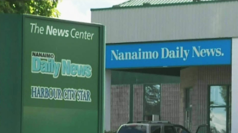 The Nanaimo Daily News was forced to apologize for a racist letter it ran in March 2013. (CTV)