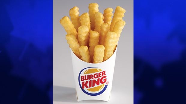 Burger King's new 'Satisfries' product.