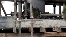 Kenya sniper mall shooting hostages