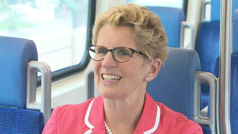 Ontario Premier Kathleen Wynne speaks to CTV News about the province's liquor laws on Friday, Sept. 20, 2013.