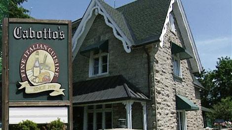 Cabotto's in Kanata has been named Ottawa's Best Italian Food.