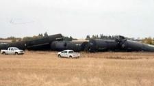 RCMP on scene of train derailment in Saskatchewan