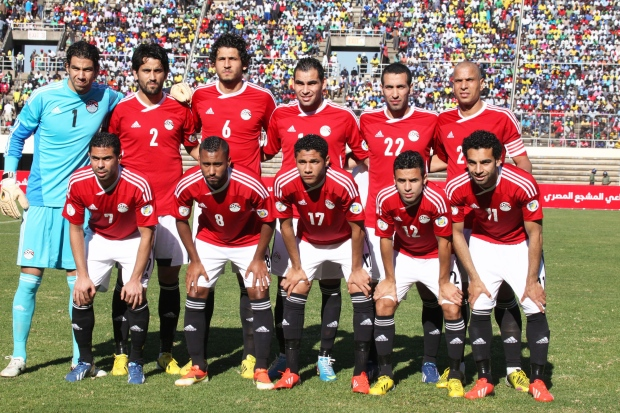 Egyptian soccer team