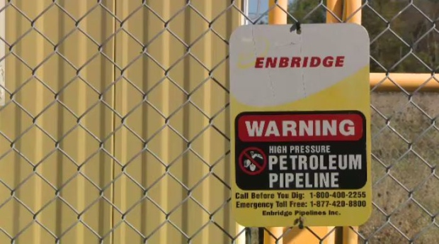 Protesters say they will block Enbridge Line 9 site indefinitely
